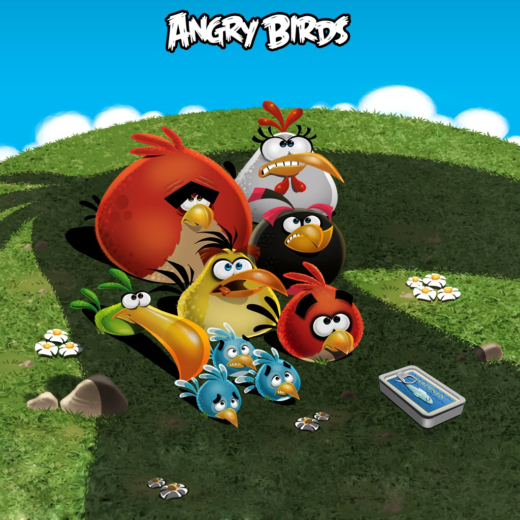 Angry Birds | iPad Wallpaper - Download free iPad wallpapers